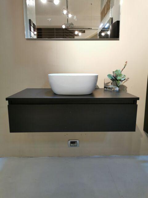 Mobile bagno sospeso completo cm 90