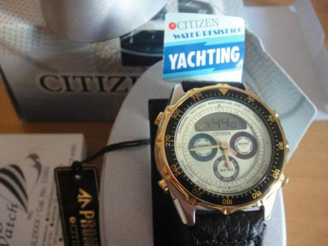 CITIZEN orologio vintage yachting