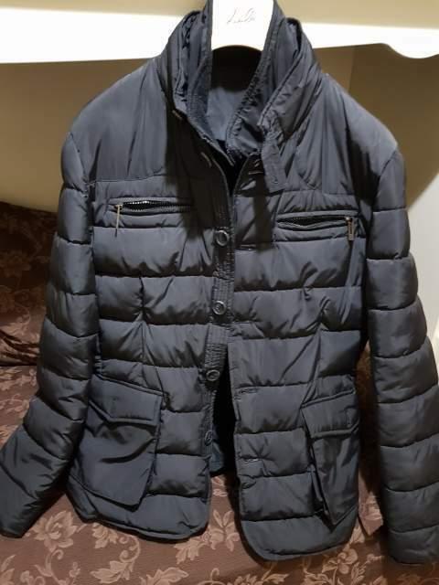 Giaccone/piumino uomo con gilet staccabile tg 52