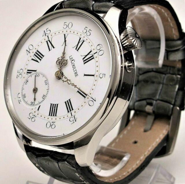 Le Coultre: prezioso orologio vintage porcellanato !