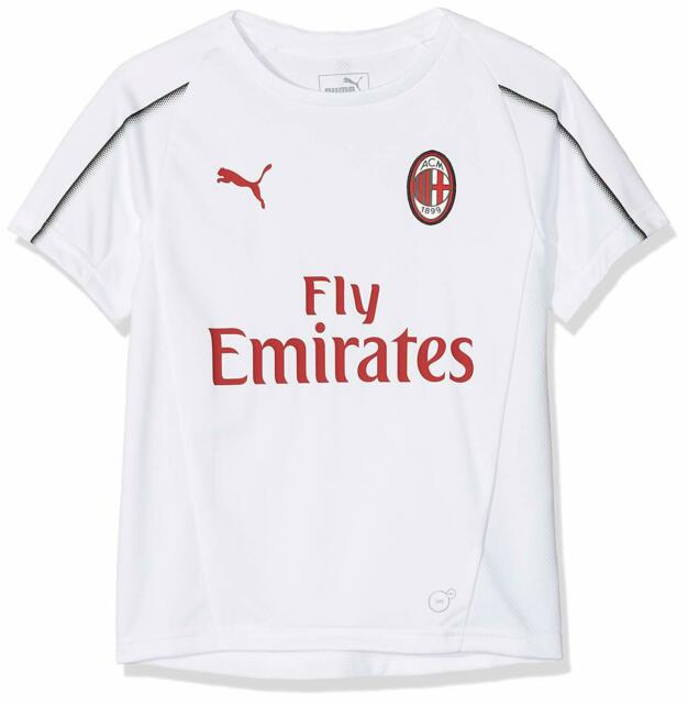 Maglia T-Shirt AC MILAN PUMA Bianca Bambino 12 anni