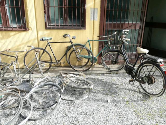 Bici bianchi e vintage vendo in blocco