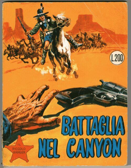 Il piccolo ranger 26 - battaglia nel canyon - con continua