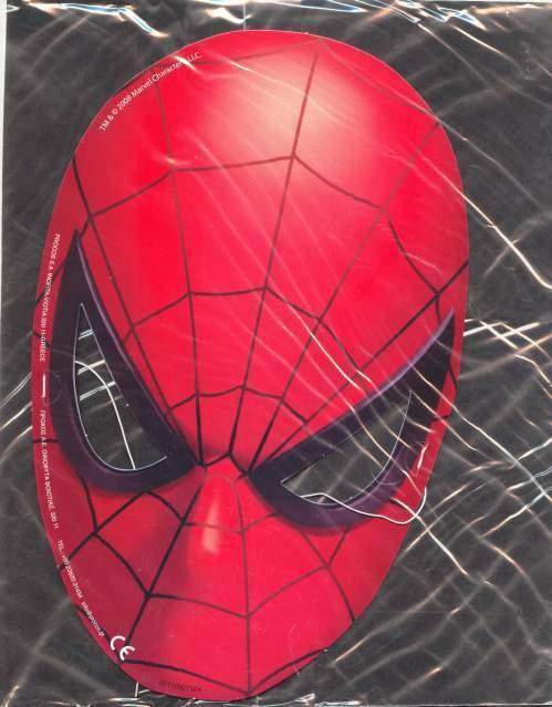 """SUPER HEROES Marvel: MASCHERA SPIDER MAN"""" (Cartone"""