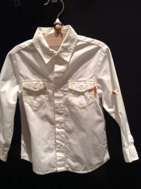Camicia bianca bambino Moschino 2 anni come nuova