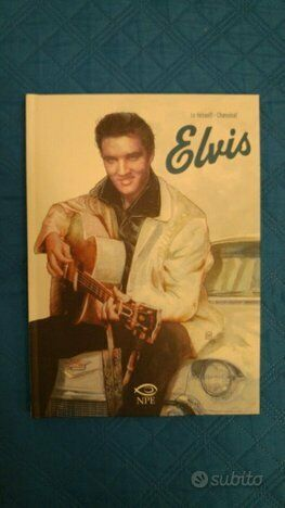 Fumetto Graphic Novel Elvis Presley