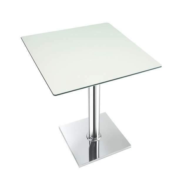 Basamento in metallo per tavolo da bar o ristorante