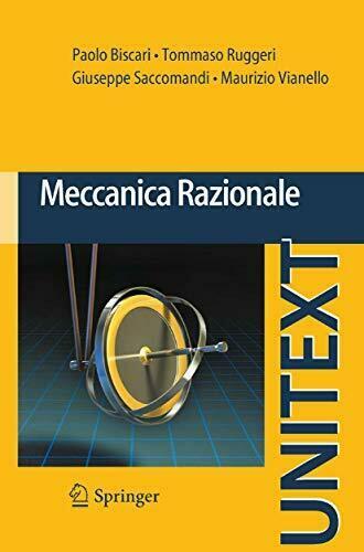 Libro usato: Meccanica Razionale