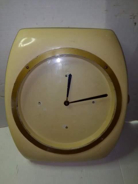 Orologio da parete vintage meccanico anni 50