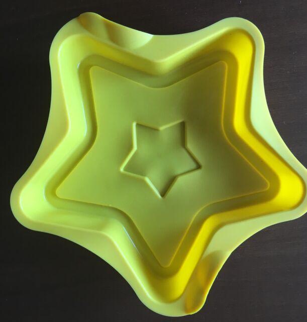 Tortiera in silicone a forma di stella NUOVA diamtro cm 25