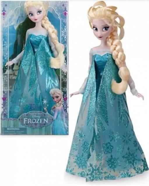 Bambola Elsa di Frozen - Il regno di ghiaccio