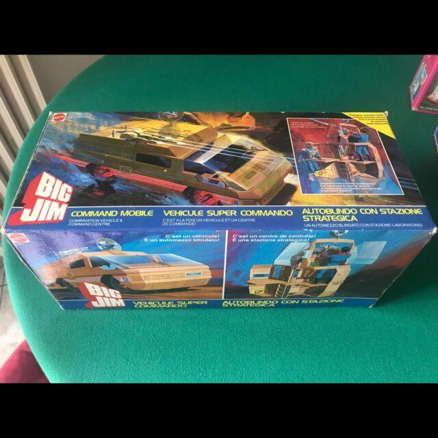 Mattel command mobile Big Jim