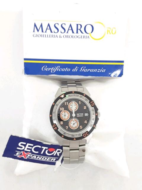 Orologio sector, exp202 chronograph.