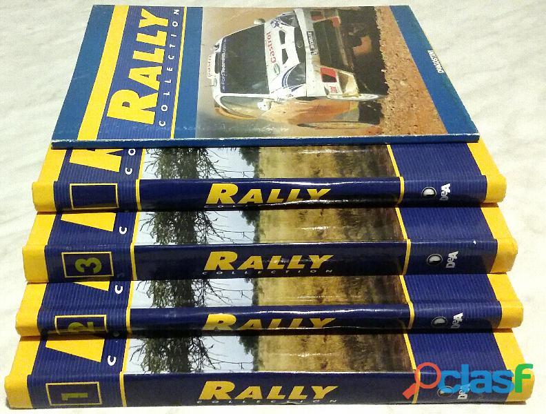 Rally Collection: numeri 1, 2, 3, 4, 47 Ed.De Agostini, 2005