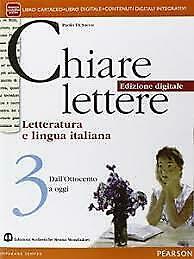 Chiare lettere 3 Dall'Ottocento a oggi nuovo