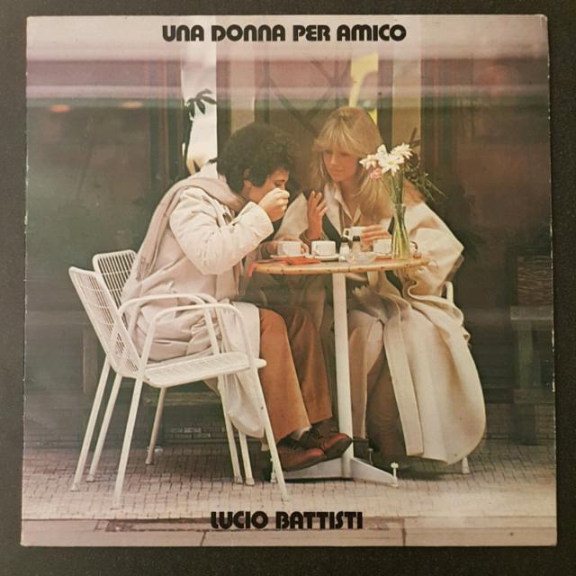 Lucio Battisti - Una Donna Per Amico - 33 Giri LP
