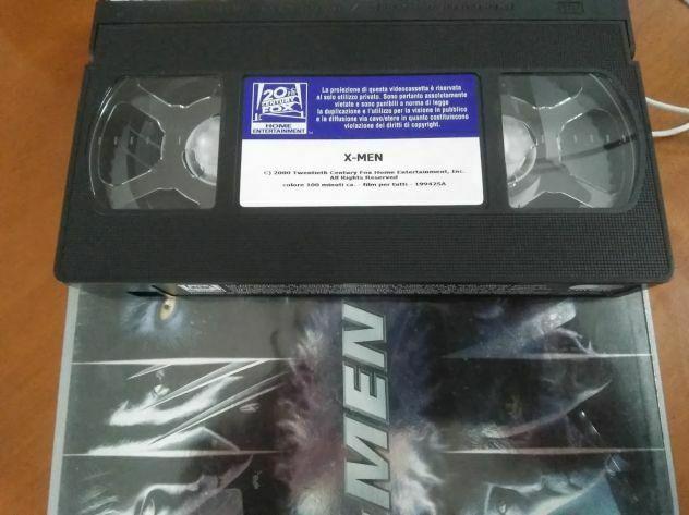 X-Men film (VHS) videocassetta