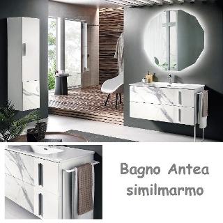 Bagno Antea 100 Marmo Bianco