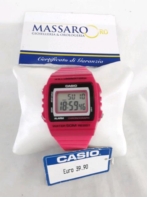 Orologio digitale CASIO, CHRONOGRAPH.