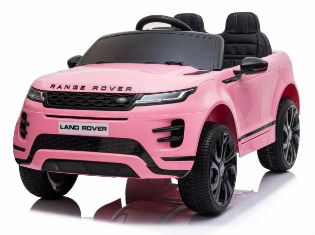 Macchina Elettrica Per Bambini 12v Mp4 Land Rover Evoque