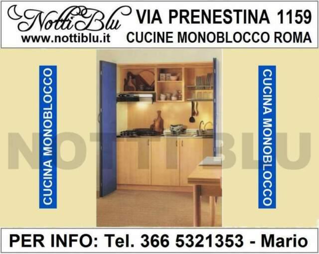 Cucina monoblocco a Scomparsa VE383 Mini Cucina Bluette L