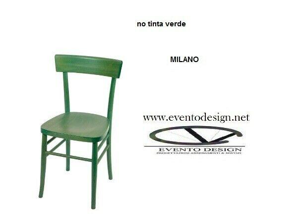 Sedie Milano In Legno