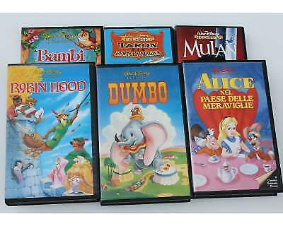 19 film walt disney i classici in vhs