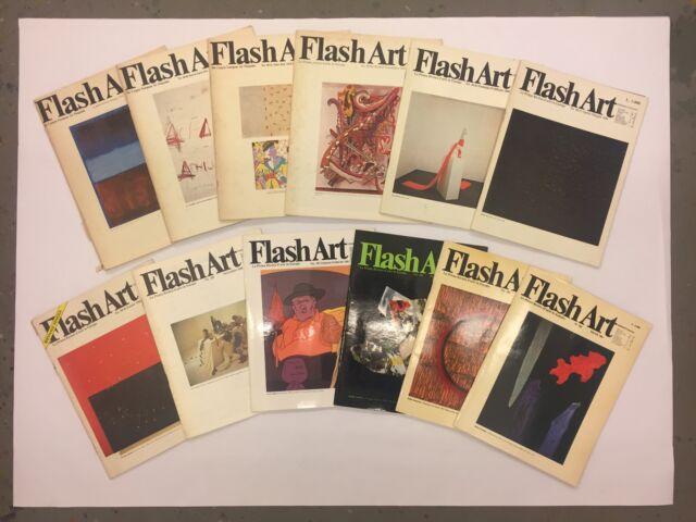 Flash Art 24 riviste dal n  al n