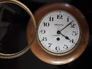 Orologio parete anni '30 ZENITH G.GAMORRA -ROMA Swiss made