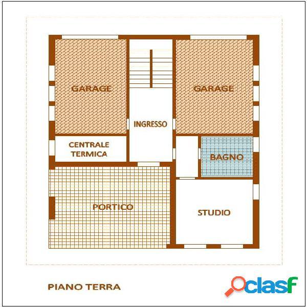 PZ2110 - Buon Pastore Villa Bifamiliare