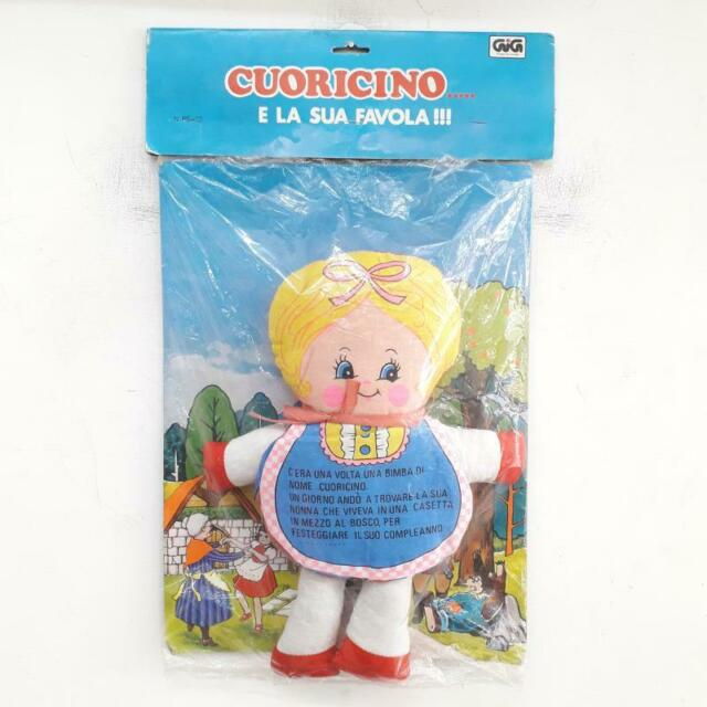 Bambola vintage cuoricino..... e la sua favola ! gig anni