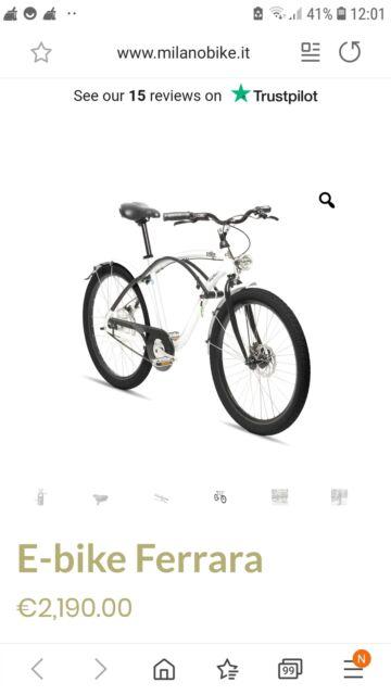 Bici elettrica milano bike
