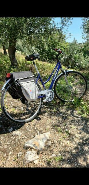 Bicicletta bici uomo donna 28 rapporti 21 ammortizzata city