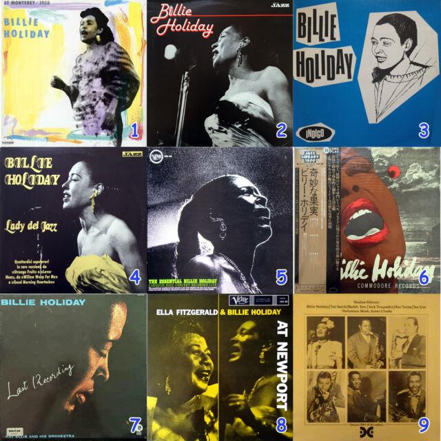Billie Holiday, serie di vinili jazz rari