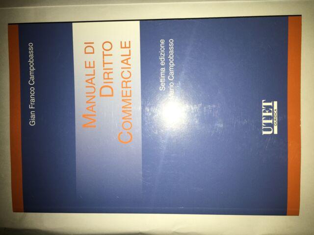 Manuale di diritto commerciale (isbn:)