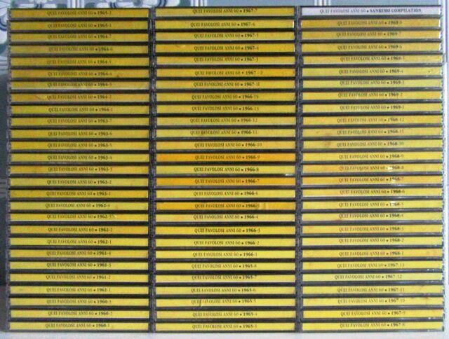 Quei favolosi anni '60 - collezione completa di 81 CD