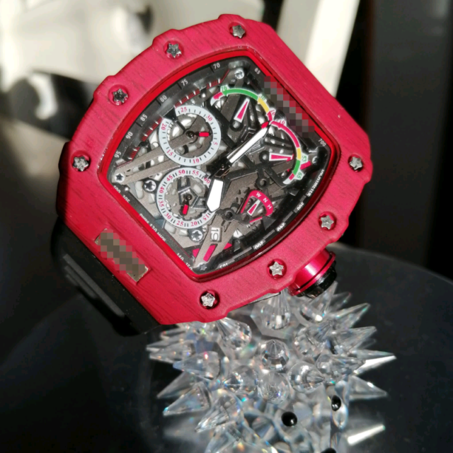 Nuovo orologio red power
