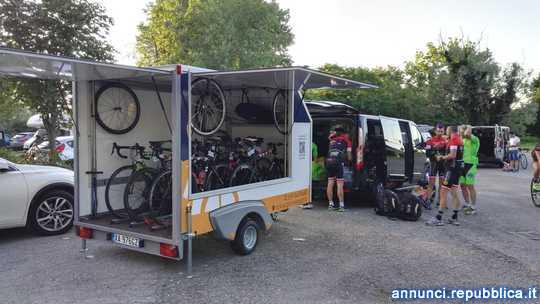 Vendo trasporto e assistenza ciclisti Pella