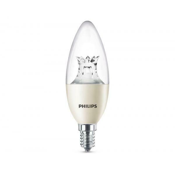 Lampadina LED Warmglow Candela E14 8 W Equivalenti a 60 W