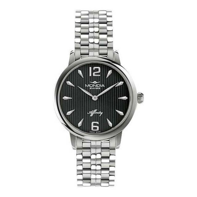 Mondia Affinity MS-203-SS-03BK-CM orologio donna al quarzo
