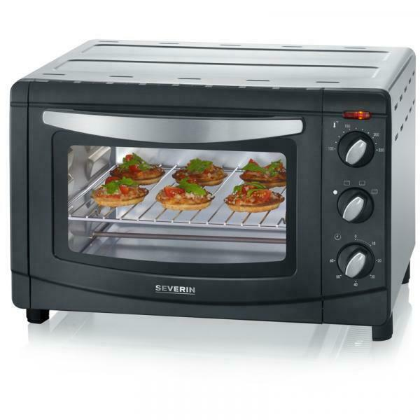 Severin TO L Nero, Argento Grill toaster oven