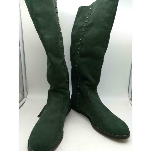 Stivaletti donna verde tg 40