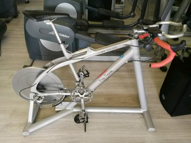 Gym bike slipper racing - top form Bici