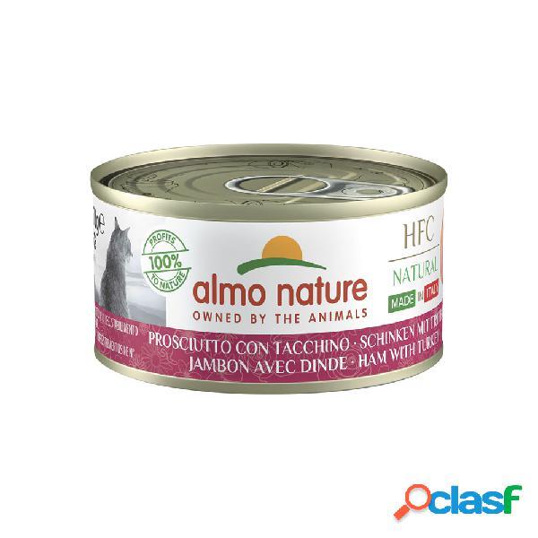 Almo Nature HFC Cat Natural Made in Italy Prosciutto con