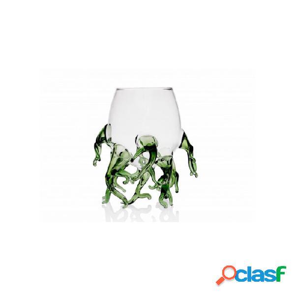 Bicchiere Alga 100% Chef In Vetro Borosilicato Trasparente E