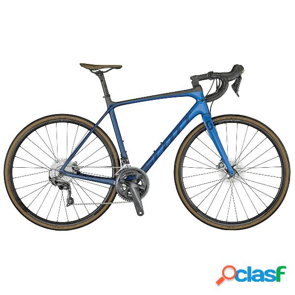 Bici da corsa Scott Addict 10 Disc (Colore: marin blue,