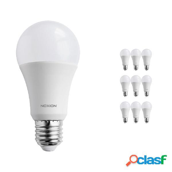 Confezione Multipack 10x Noxion PRO LED Bulb A60 E27 15W 827