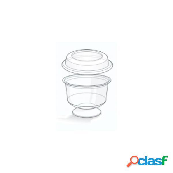Coppetta Con Coperchio In Plastica Trasparente Cl 20 -