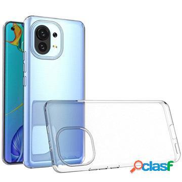 Cover Anti Scivolo TPU per Xiaomi Mi 11 - Trasparente