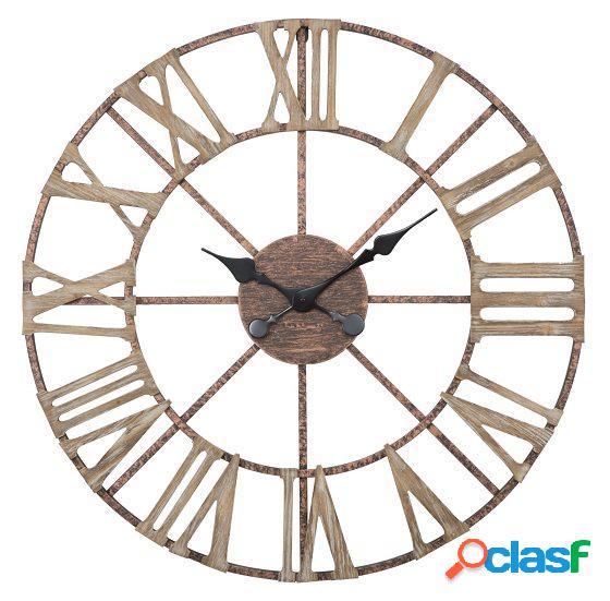 Orologio Maxi da Parete Numeri Romani stile industriale